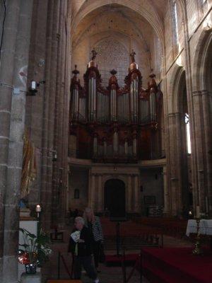 orgues de la basilique