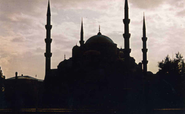 Istambul, la Mosquée Bleue